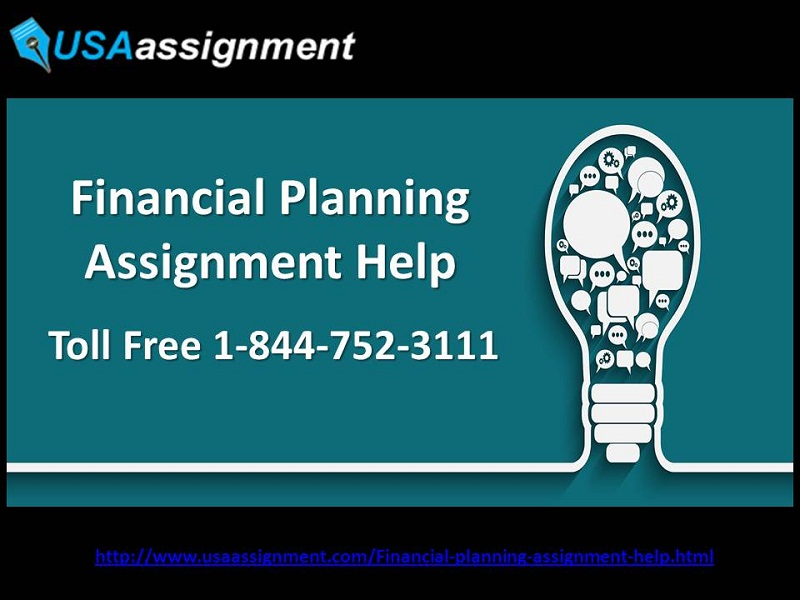 assignment 1 financial planning Financial management is the application of the planning and control functions to the finance function from the above definition it is clear that financial management is rendering a specialized service to the business in the way of obtaining and effective utilisation of the funds.